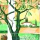 Салфетки бумажные для декупажа 33х33 см Тосканский пейзаж